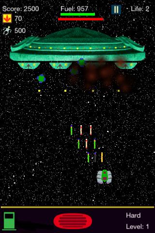 Screenshot Galaxy Pilot
